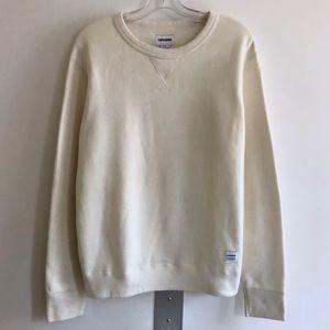 cf008d08727d Converse Tops - Off white crewneck sweatshirt